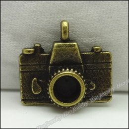 Gold Camera Pendant Australia - necklace pendent 50pcs Vintage Charms Camera Pendant Antique bronze Fit Bracelets Necklace DIY Metal Jewelry Making