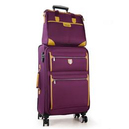 $enCountryForm.capitalKeyWord UK - Commercial universal wheels trolley luggage travel luggage oxford fabric canvas box general 14 22 24 26 sets,high qualit