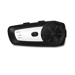 Chinese  Motorcycle Wireless Bluetooth Helmet Intercom Waterproof Motorbike Helmet Interphone Headset with FM Radio Headset manufacturers