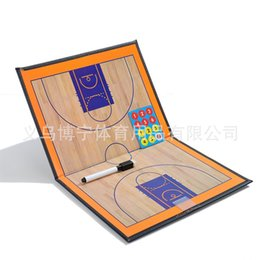 Pen Boards UK - Basketball tactical board Folding Coach Showboard Magnetic Basketball Coach Board with pen #255853