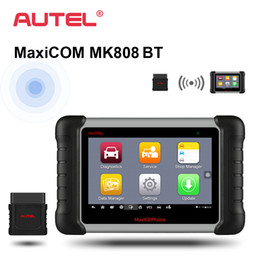 Tools For Programming Car Australia - Autel MaxiCOM MK808 BT OBD2 Car Diagnostic Tool ODB2 scanner automotive code reader for key programming EPB IMMO DPF SAS TPMS