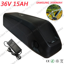 $enCountryForm.capitalKeyWord Australia - 36V 15AH Electric Bike battery 36V 500W E-bike Lithium ion battery pack Use Samsung 3000MAH cells with 15A BMS 42V 2A charger.