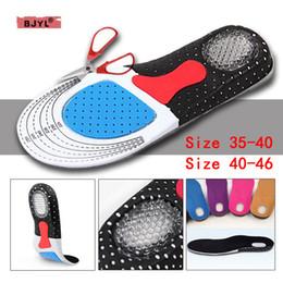$enCountryForm.capitalKeyWord Australia - BJYL 1 Pair Men and Women's Fashion Silica Gel Insoles Orthotic Sport Running Shoes Insoles EU 35-44 US 4-12 Cushions gelinsole