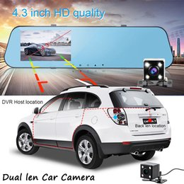 $enCountryForm.capitalKeyWord Australia - L910 Car DVR Dash Dual Lens Cam Camcorder 4.3 Inch HD 170 Degree Wide Angle Recorder Safe Monitoring For Driving