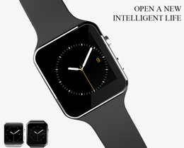 $enCountryForm.capitalKeyWord Australia - X6 Smart Watches With Camera Touch Screen Support SIM TF Card Bluetooth Smartwatch For Iphone X Samsung s9 Phone goophone with Retail Box