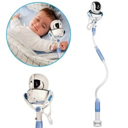 Romatlink Baby Camera Mobile Phone Supporto rotante universale per letto Lazy Holder Stand J190507