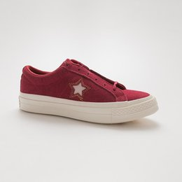 $enCountryForm.capitalKeyWord NZ - Unisex Canvas Shoes 163192C Women Men Cartoon Originals Classic One Star 1970s shallow Casual Shoe factory price Lovers Sneaker Size 35-44