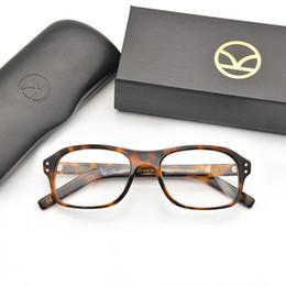 Venta al por mayor de Gafas de montura Kingsman para hombres Para gafas de lectura Colin Firth Con montura de gafas hechas a mano de acetato