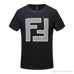 flexible products Australia - fashion popular logo small round collar T-shirt. High quality cotton products, flexible workmanship. The latest printing technology. -2