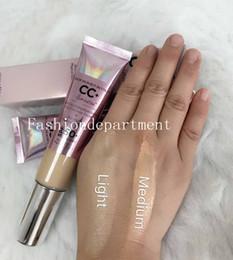 $enCountryForm.capitalKeyWord Australia - New makeup It Cosmetics Your Skin but Better Light Medium 2 Color Pearlescent Sunscreen 32 ml CC Cream