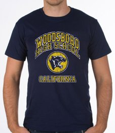 Cotton Scream Australia - Woodsboro High School Funny Horror Slasher Scream Movie Mens New Blue T-Shirt T-Shirt Men Male 3XL Short Sleeve Crewneck Cotton Big Size Cou
