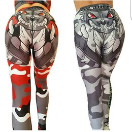 Wholesale New Women Fitness Push Up Leggings High Waist Plus Size Workout  Legging Pants 3D Printed Leggings Yoga Pants Femme For Christmas 39f028d02