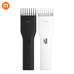 Xiaomi Mi Enchen Boost USB Electric Hair Clipper Two Speed Ceramic Cutter Hair Fast Charging Hair Trimmer on Sale