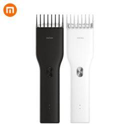 Xiaomi Mi Enchen USB Boost elétrica Hair Clipper Duas Velocidades Ceramic Cabelo cortador de carregamento rápido Trimmer cabelo em Promoção