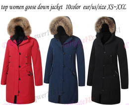 $enCountryForm.capitalKeyWord NZ - Wholesale-Goose women's Lang Parka Men Winter Feather Overcoat Timeless Style Jacket Removable Real Fur Collar Goose Down Jacket
