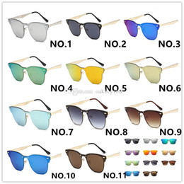 $enCountryForm.capitalKeyWord Australia - Hot Selling 11 Colors Occhiali Da Sole 3576 Fashion Metal Dazzle Colour Sunglasses Men Women Designer Sunglasses