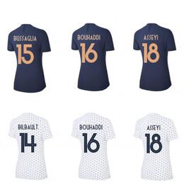 Discount jersey soccer world cup france - 2019 France jerseys BOUHADDI ABILY HENRY Women World Cup football shirts home away soccer tops maillot equipe de france