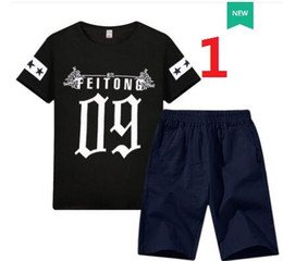 $enCountryForm.capitalKeyWord Australia - hot selling america style childrens long sleeve t shirts pure cotton letter printed autumn fall 2019 summer new design 100-160