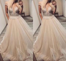 Wedding dress cheap online shopping - Gorgeous Lace Wedding Dresses Off Shoulder A Line Appliques Sweep Train Cheap Country Bridal Gowns Sexy Castle Chapel Vestidoe De Noiva