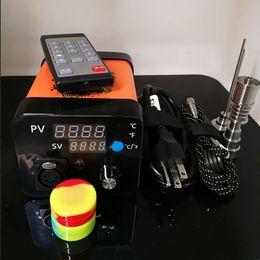 $enCountryForm.capitalKeyWord Australia - Wholesale electronic Portable Dab Rigs ENail Wax Pen Electric Dab Nail Box Kit Temperature Controller for 10 16 20mm coil Rig glass Bongs