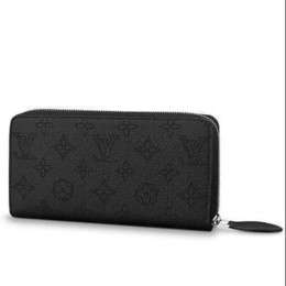 China M61867 ZIPPY WALLET Perforated pattern black Real Caviar Lambskin Chain Flap Bag LONG CHAIN WALLETS KEY CARD HOLDERS PURSE CLUTCHES EVENING supplier knitting patterns bags suppliers