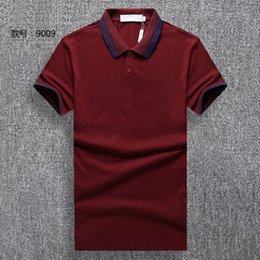 $enCountryForm.capitalKeyWord Australia - #1301 Summer Fashion Men Business Polo Cotton Short Sleeve Tees Designer Sweatshirt Luxurious Men's Outdoor Casual Polos Shirts