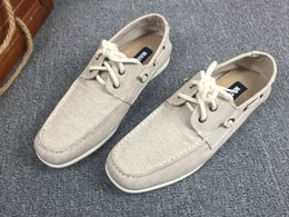 $enCountryForm.capitalKeyWord Australia - Hot Sale-2019 Affairs Business Cloth One Pedal Cotton Linen Ventilation Male Low Help Shoe