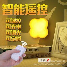 $enCountryForm.capitalKeyWord Australia - New New Product Originality Intelligence Remote Control Timing Socket Small Night-light Home Furnishing Light Control Led Induction Lamp