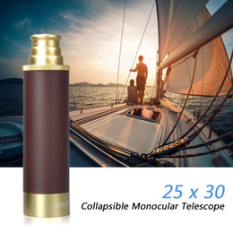 $enCountryForm.capitalKeyWord Australia - 25x30 Pocket Zoomable Monocular Pirate Telescope Portable Collapsible Handheld Binoculars Vintage Monocular Telescope