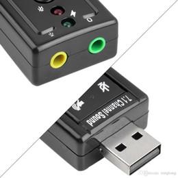 $enCountryForm.capitalKeyWord Australia - CM108 Mini USB 2.0 3D External 7.1 Channel Sound Virtual 12Mbps Audio Sound Card Adapter Sound Cards fast shipment by DHL