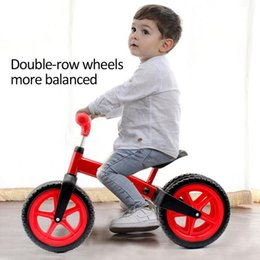 Toy Walkers NZ - Children's 2-wheel Walker Toy Balance Bike Safe Stable Buggy Durable Scooter Balance Bike Ride On Toys
