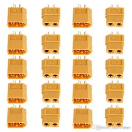 Wholesale Bullet Connectors Australia - 200pcs set XT60 XT-60 Male Female Bullet Connectors Plugs For RC Lipo Battery Quadcopter Multicopter wholesale