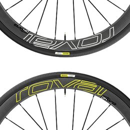 $enCountryForm.capitalKeyWord NZ - Two Wheels Set Stickers for ROVAL CLX 40 Road Bike Carbon Wheel Race Cycling Bicycle Rim Decals 50mm 38mm 40mm #137352