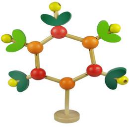 $enCountryForm.capitalKeyWord NZ - New DIY Beads Leaves Branches Tree Building Blocks Wood Wisdom Tree Shape Intel Learning Tools Toy Educational Toy