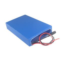 charger for li ion NZ - waterproof rechargeable 52v 30ah li ion polymer battery pack High-capacity for 300W to 2000W power with 3A charger Free shipping