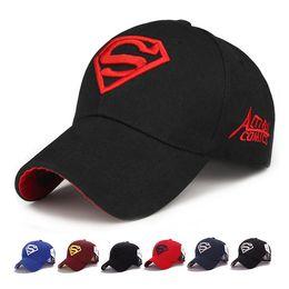 3d8d207b3a9 Suerhero Superman Cat Hats LOGO Superman Embroidery Baseball Cap Adjustable Ball  Caps Sun Hat for Women Men Drop Ship 010089