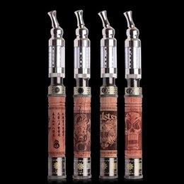 Wooden vision online shopping - E fire vision v e cigarette ego battery IC30 atomizer vapor vape pen wooden k fire vaporizer pen x fire battery