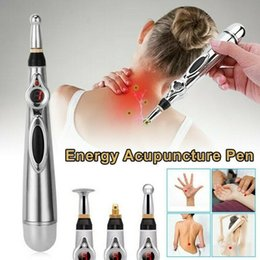 electronic meridian 2020 - Electronic 3-in-1 Acupuncture Pen Electric Meridians Laser Therapy Heal Massage Pen Meridian Energy Relief Pain Tools ch