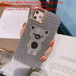 real black roses UK - Fashion Phone Case for IPhone 11   11pro Max Phone Case for IPhone 6 6p 6sp7 8 7p 8p X Xs Xs Back TPU Real Cover with Cute Bright Ornament