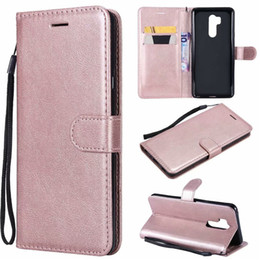 Color Leather Bags Australia - For LG G8 thinq Case Flip Cover Wallet Stand Pure Color PU Leather Mobile Phone Bags Coque Fundas For LG G8S thinq