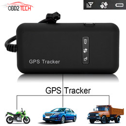 gprs car antenna NZ - Car Motorcycle GSM GPRS GPS Tracker Quad Band Tracking Device TK110 Real Time Tracking Car GPS Tracker GT02A
