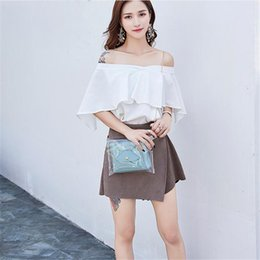 best sale handbags Australia - 2019 Best Sale Fashion Women Handbag Casual Transparent Beach Bags Women Small Shoulder Messenger Bags Female Crossbody
