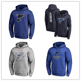 Discount hoodies st louis - #91 vladimir tarase New Blue Hockey Hoodies St. Louis Blues 2019 Stanley Cup Western Conference Champions outdoor long s
