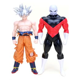 $enCountryForm.capitalKeyWord NZ - Dragonball Super Resolution of Soldiers Ultra Instinct Son Gokou Vs Jiren Action Figure Collectible Model Toy