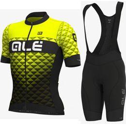 $enCountryForm.capitalKeyWord Australia - Summer ALE team Cycling Short Sleeves jersey (bib) shorts sets Wear Comfortable Bicycle Clothing Bike shirt 9D gel pad shorts Suit