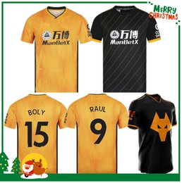 Wholesale wolves ADULT HOME SHIRT Wolverhampton Wanderers Top Quality Soccer Jerseys Diogo Jota Leo Costa FC Football Shirt
