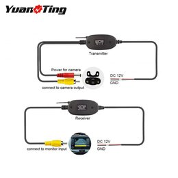 wireless parking sensors camera Australia - utomobiles & Motorcycles YuanTing RCA Video 2.4GHz Wireless Transmitter and Receiver for Car RV Bus Rear View Backup Camera Monitor Syste...