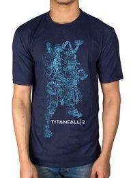 Playstation Games Free Australia - Official Titanfall 2 Titan Bt Line Art T-Shirt Video Game Playstation Xbox Merch Men Women Unisex Fashion tshirt Free Shipping black