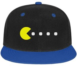 $enCountryForm.capitalKeyWord NZ - Pac-Man game design Unisex Man Cap Woman's Hat Vintage Cotton Snapback Flatbrim Hiking Hats Baseball Caps for Men