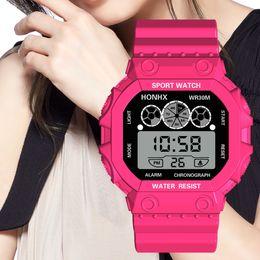 Men Digital Wrist Watches Australia - Smart Watches Men Luxury Three Eyes Analog Digital Sport LED Smartwatch Waterproof Wrist Watch Men relogio masculino19APR25